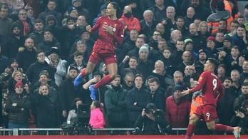 A Liverpool-hengert a United sem tudta megállítani