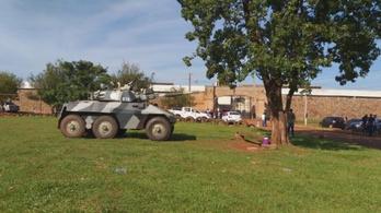 Több tucat rab szökött meg egy paraguayi börtönből