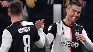 Ronaldo duplájával lépett meg a Juventus a bajnokságban