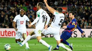 Látványos góllal hozták össze az új edzőnek a győzelmet Messiék