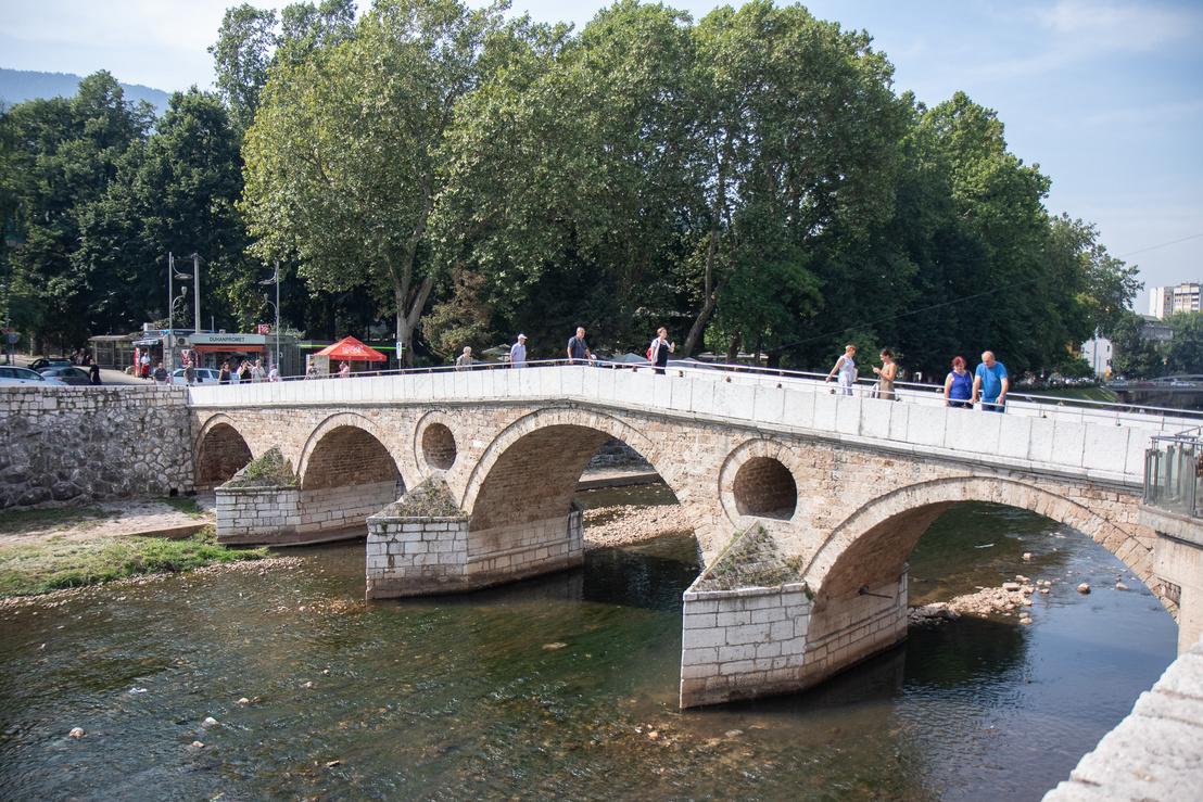 A Latin híd, Gavrilo Princip itt adta le azt a  lövést Ferenc Ferdinándra és Chotek Zsófiára, ami után többé nem volt ugyanolyan a világ.
