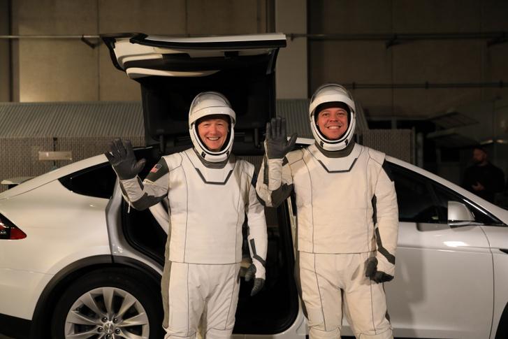 A Crew Dragon első legénysége, Doug Hurley és Bob Behnken