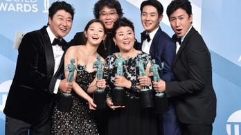 Még egy lépéssel közelebb került az Élősködők az Oscarhoz
