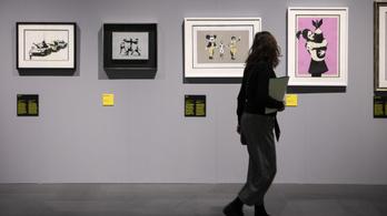 Februárban jön az első magyarországi Banksy-kiállítás