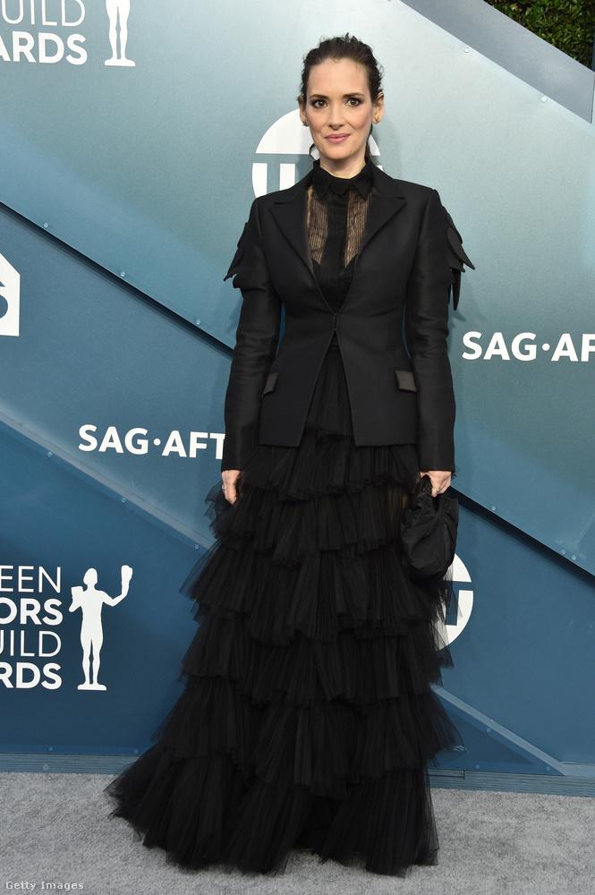 És Winona Ryder is ott volt egy ilyenben