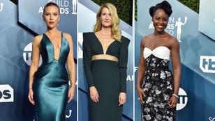 SAG Awards: szupersztár színésznők szűk szoknyákban szexiztek