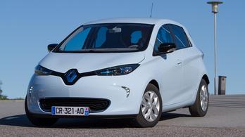 Meredeken nőnek a Renault villanyautó-eladásai