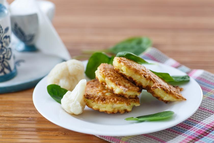 Reszelt karfiolból készül a legjobb zöldségfasírt – Bátran fűszerezve isteni finom