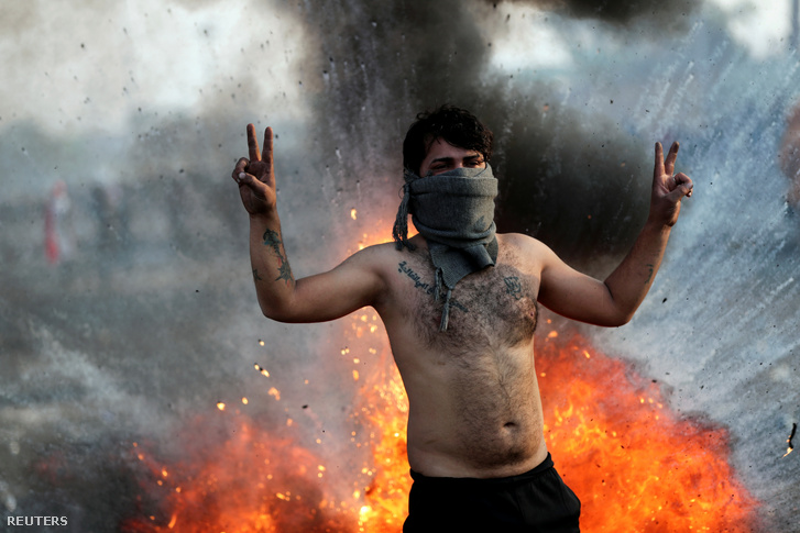 2020-01-20T000000Z 603367458 RC2KJE9V4RKE RTRMADP 3 IRAQ-PROTEST