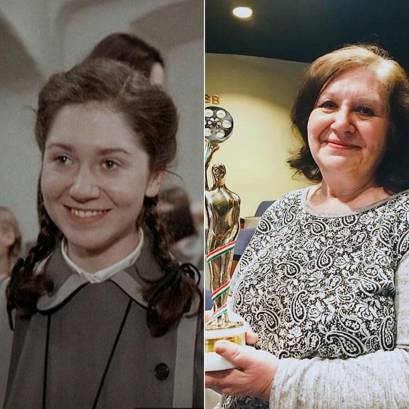 A bal oldali képen az Abigél Kis Marijaként, a jobb oldalon pedig a 2019-es Magyar Filmdíj-átadóról elhozott elismeréssel, amit a legjobb női mellékszereplőként nyert.