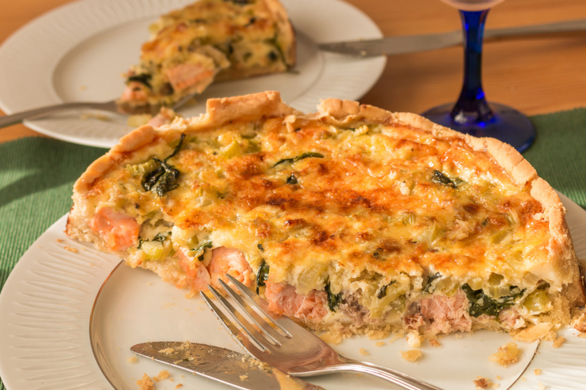 spentos lazacos quiche recept