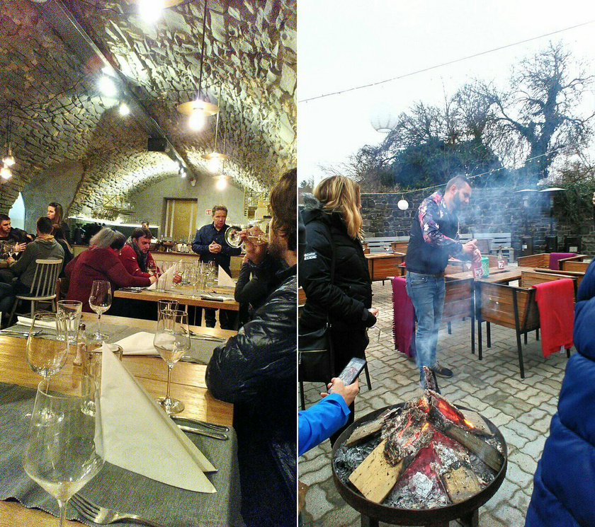 Kitűnő vendéglátás a Tilia Borvendéglőben és a Pláne borteraszon.