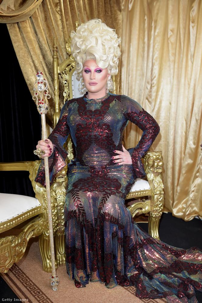 Íme The Vivienne, aki most a győzelmével ugye kétszeresen is királynő