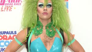 Ha ön még sosem látott szőrös mellkasú drag queent, kattintson ide, essen túl az élményen!