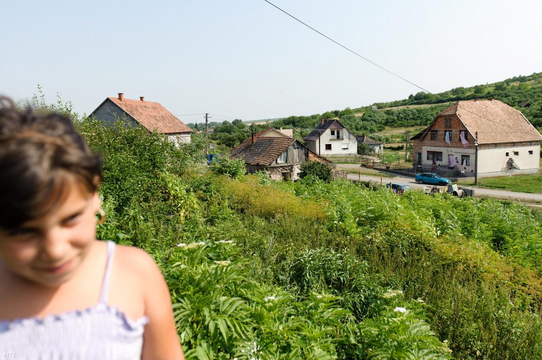 A gyöngyöspatai cigánysor házai 2011-ben