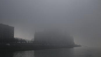Köd miatt adott ki figyelmeztetést az OMSZ