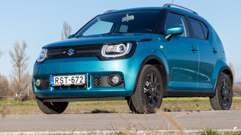Teszt: Suzuki Ignis 12 V hibrid