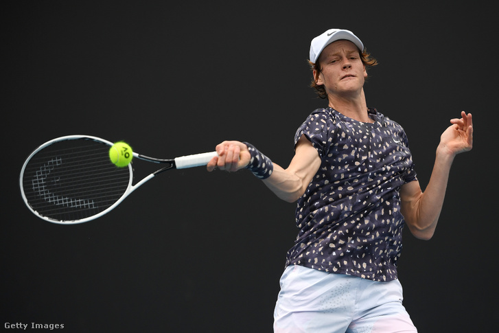 Jannik Sinner az Australian Openen