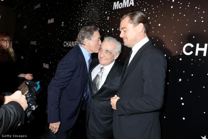 De Niro, Scorsese és DiCaprio