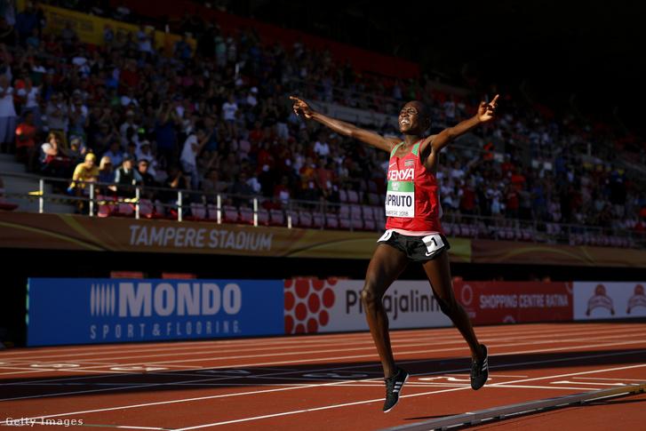 Rhonex Kipruto a 2019es atlétikai világbajnokságon Dohában