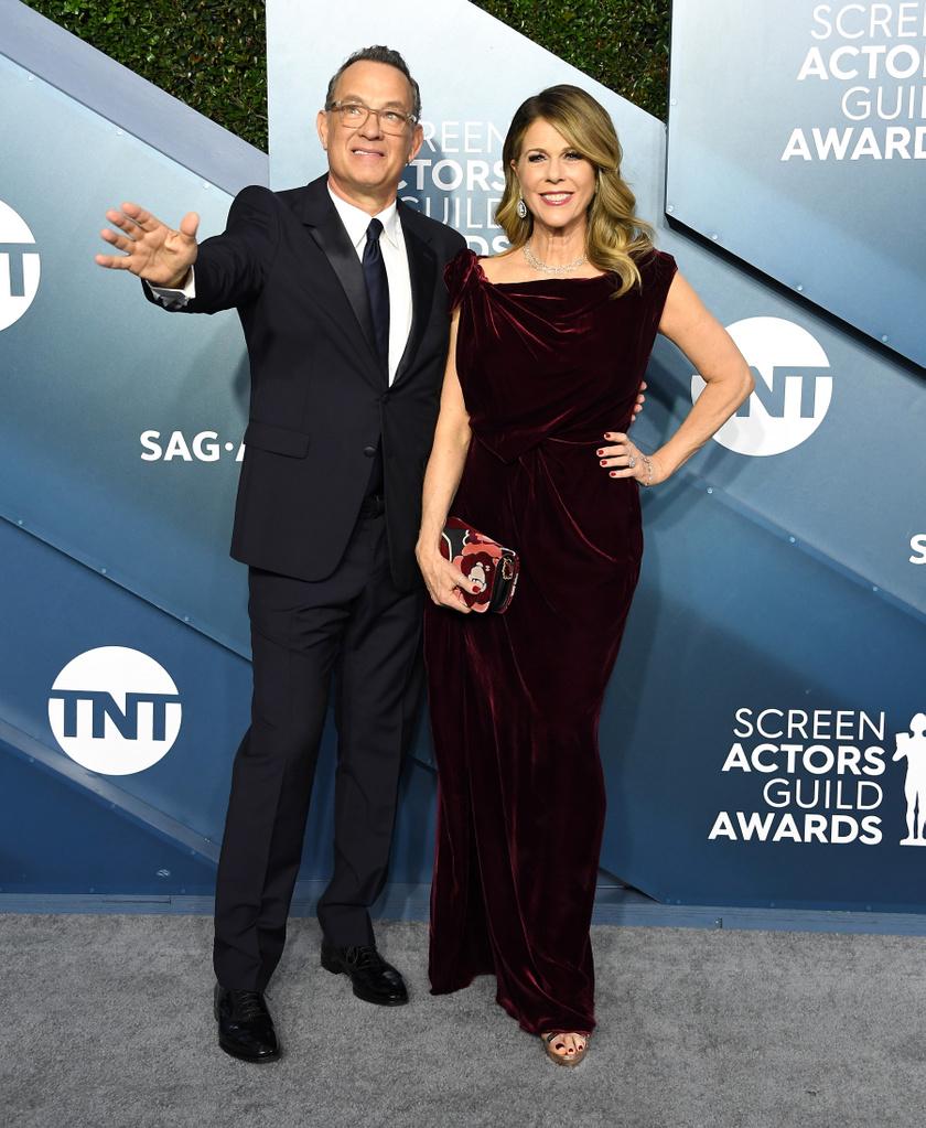 Még mindig imádják egymást, Tom Hanks és Rita Wilson kapcsolatáról sugárzik a harmónia.