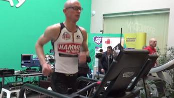 Csécsei Zoltán megdöntötte a 12 és a 24 órás futópados világcsúcsot is