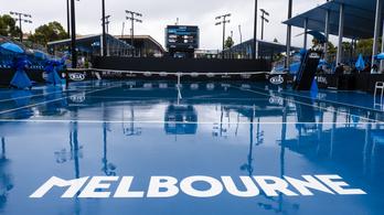 Elnapolták Babos Tímea meccsét az Australian Openen