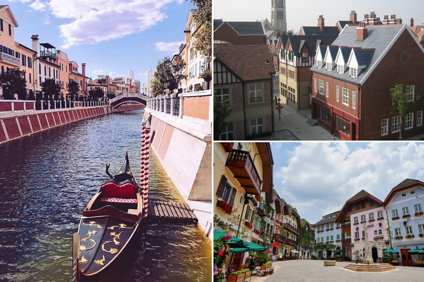 Így fest a kínai Velence és Párizs: a másolás mesterei egész városokat alkottak újra