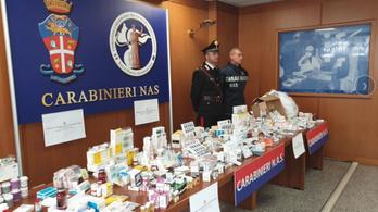 5,5 millió forint értékű hamis gyógyszert foglaltak le Magyarországon egy tavalyi razzia során