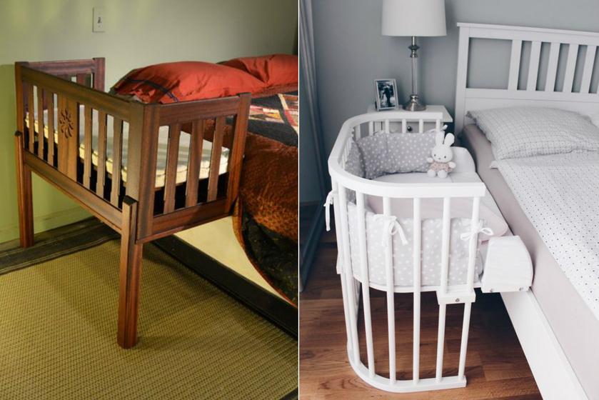 A babaöböl lényege, hogy toldalékként a szülők ágyához csatlakozik. A kialakításnak köszönhetően nem kell attól tartani, hogy összenyomjuk a gyereket, és a szülő azonnal meg tudja nyugtatni a picit, ha szükséges.