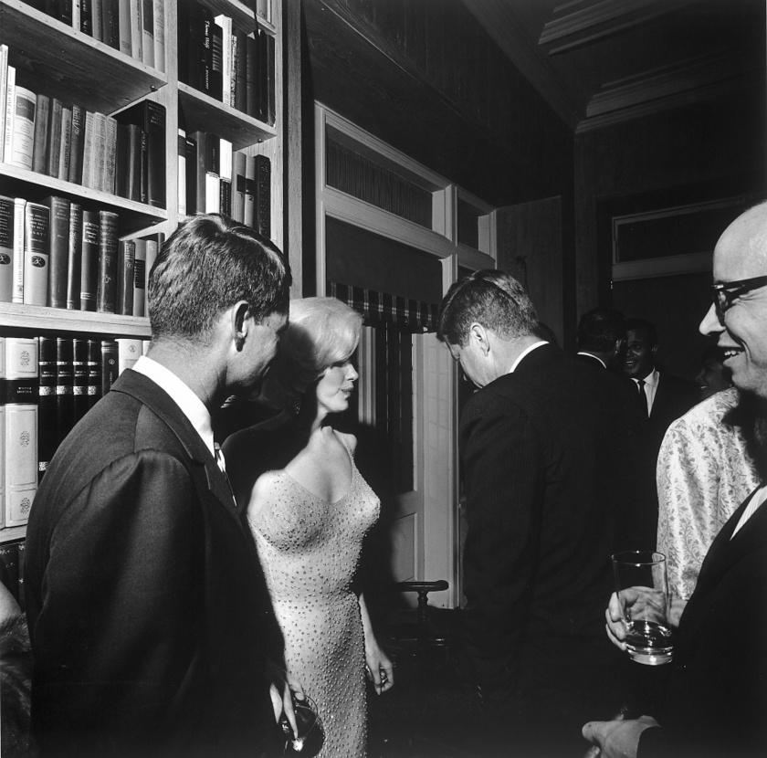 Ez az egyetlen közös fotó Marilyn Monroe-ról és John F. Kennedyről, amit nem semmisítettek meg.