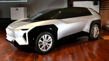 Ebből lesz az első elektromos Subaru?