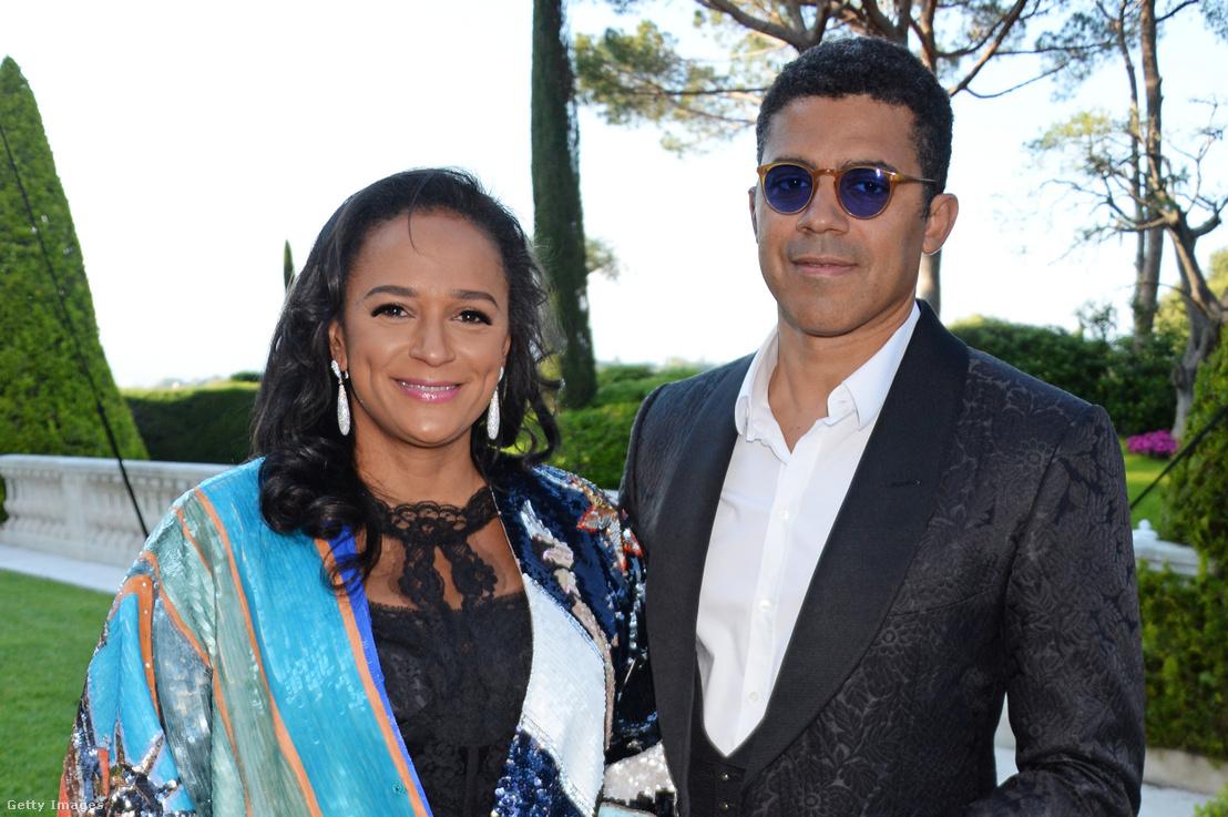 Isabel dos Santos és Sindika Dokolo (2018)