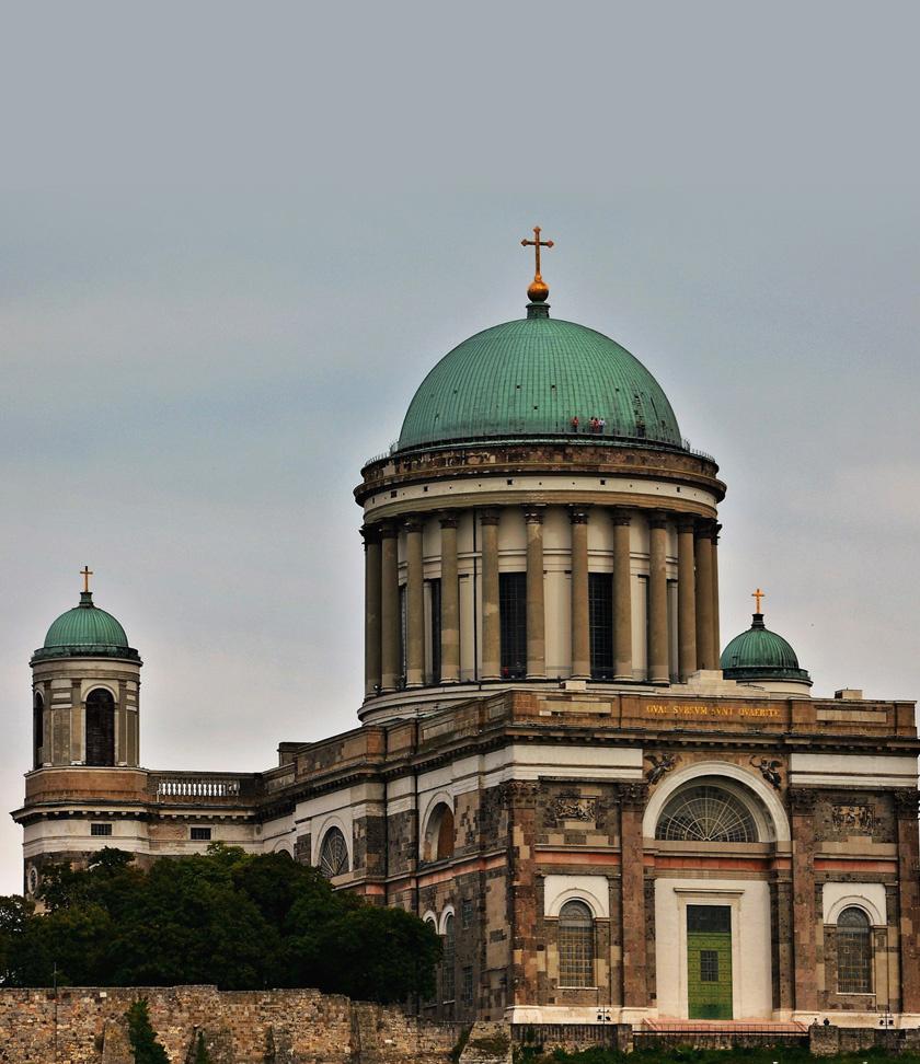 Az esztergomi bazilika.