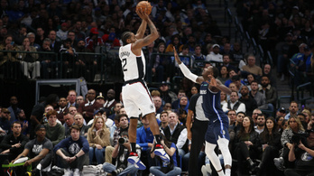 Leonard tovább folytatta szédületes sorozatát, győzött a Clippers