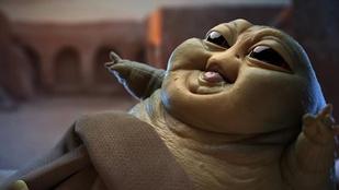 Baby Yoda után megérkezett a Jabba-baba is