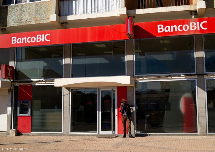A Banco BIC egyik lubangói bankfiókja