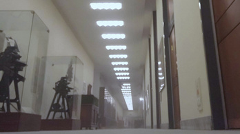 Levegőtisztasági mérést csinál az OSZK a könyvtárba jutó nagy mennyiségű por miatt