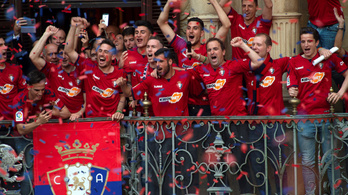 Évekig bundázhatott meg meccseket az Osasuna a spanyol bajnokságban