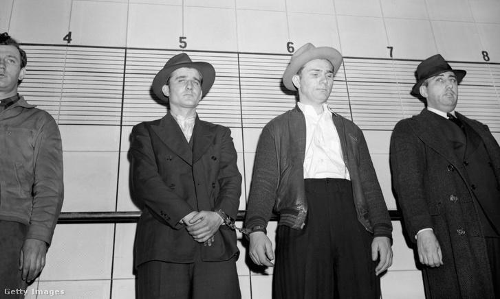 Gyanúsítottak azonosítása 1945-ben a chicago-i rendőrségen