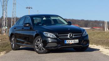 Használtteszt: Mercedes-Benz C180d (W205) Bluetec 7G-Tronic - 2016.