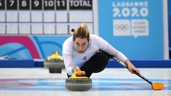 Magyar-kanadai curlinggyőzelem az ifjúsági olimpián