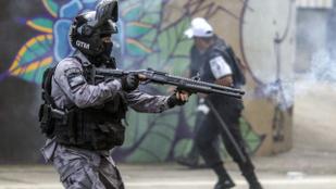 2019-ben több mint 1800 embert öltek meg rendőrök Rio de Janeiróban