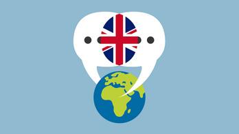 Kis gömböcként zabálja fel az angol nyelv a világot