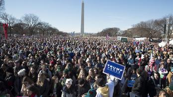 Donald Trump abortuszellenes menetre megy pénteken