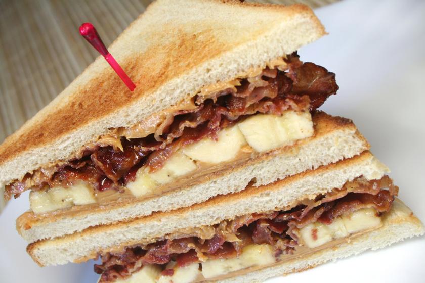 Egy szendvics, ami a rock and roll királyának, Elvis Presley-nek köszönheti népszerűségét