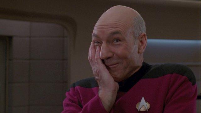 Picard legjobb pillanatai a kulisszák mögött