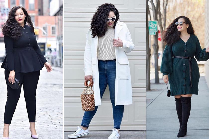 Hogy lehetsz csakugyan nőies 70 kiló felett? A gyönyörű kerek blogger megmutatta trükkjeit