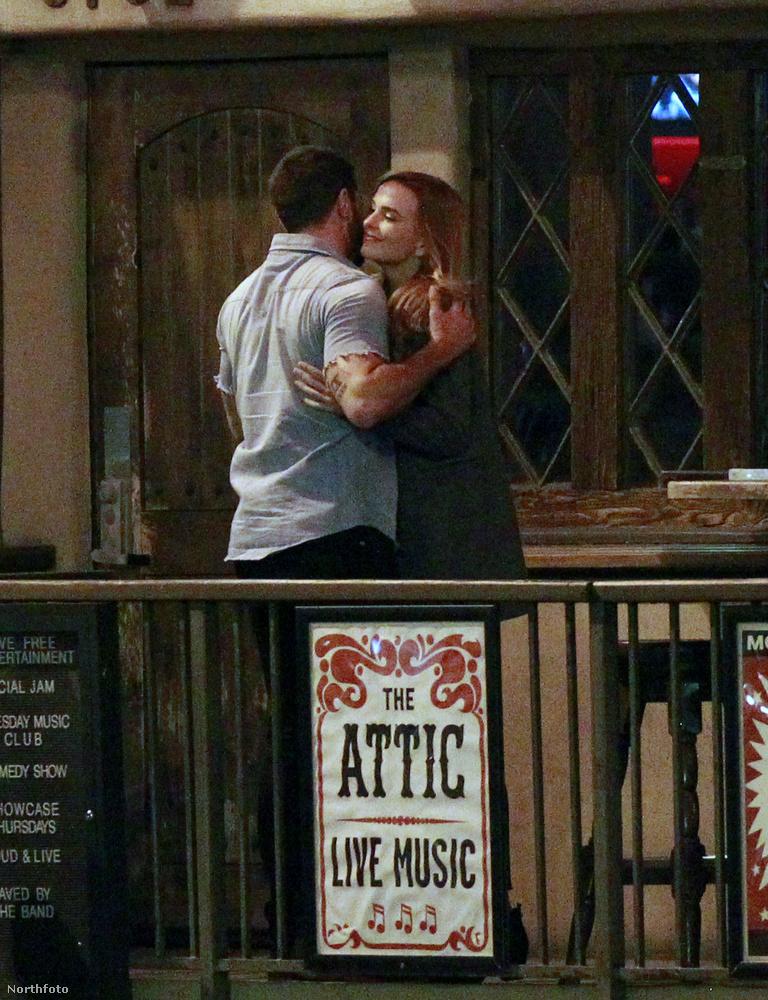 Metcalfe ugyanis hétfőn ölelkezett egyet Jade Albany ausztrál színésznővel is.