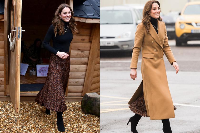 Katalin hercegné kifinomult, ugyanakkor roppant divatos volt szerdán az Öt nagy kérdés ötéves kor alatt elnevezésű tájékoztatón.